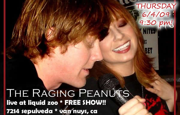 The Raging Peanuts - Comedic Musicians Mary Pascoe and Cory Pearman